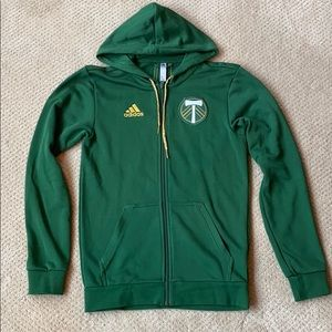 Portland Timbers Full-Zip Hooded Jacket